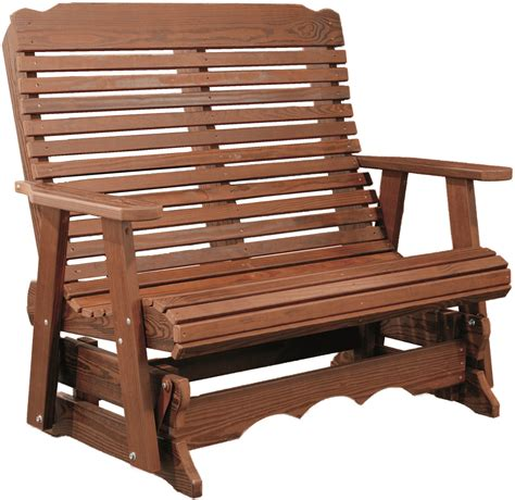 Stained Glider Bench Plans